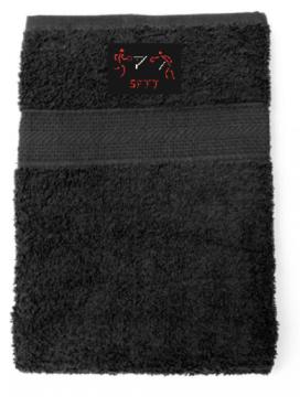 Serviette noire 2